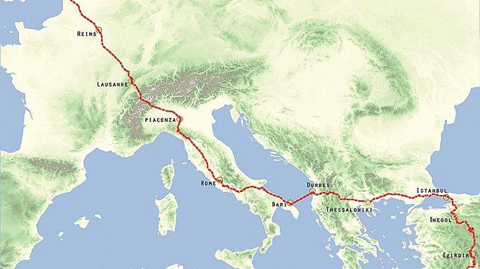 eurasian road promotion activity edirne de