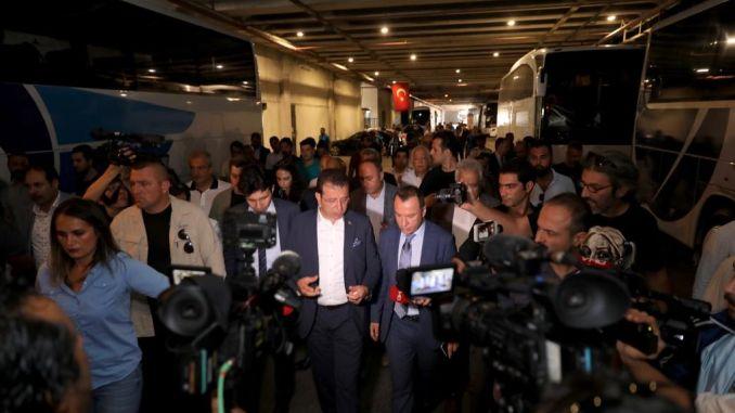 Президентът имаglu ibbye се прехвърли на автобусна гара Bayrampasa намерени отзиви