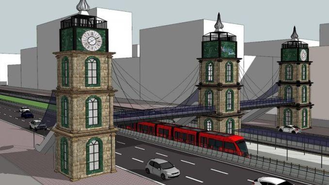 hartë dhe video promovuese të bursa t linjës së tramvajit