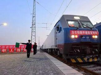 c km željeznice završeno u jednom potezu