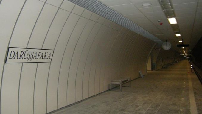 darussafaka metro station