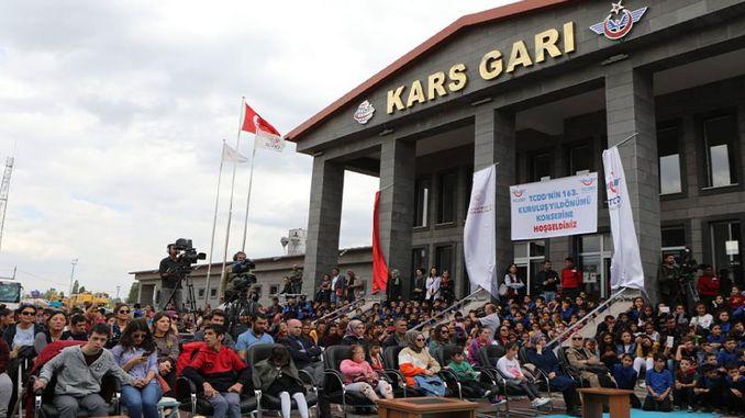 year celebrations of Turkish railways continue