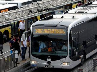 serviciul de autobuz după cutremur