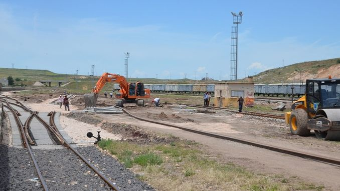 diyarbakir kurtalan line undercarriage of the highway tender as a result of the heat