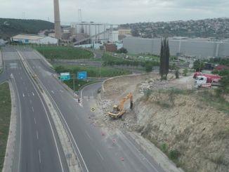 raskrižje s ulicom Yavuz Sultana Selima