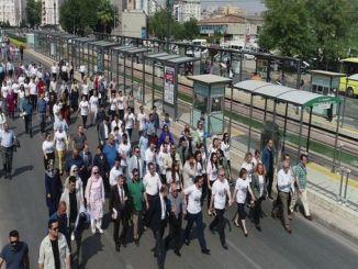 događaj nedjelje mobilnosti u Europi u gaziantepu