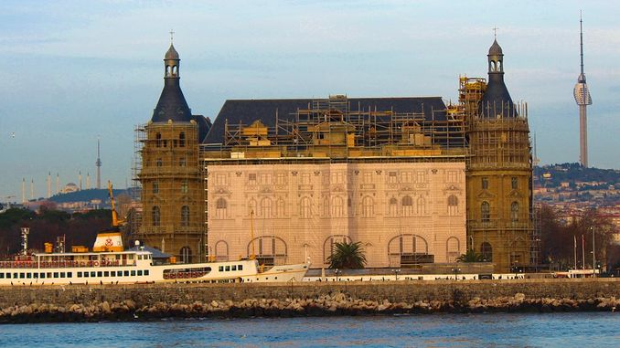 ibb sirkeci and haydarpasa station they wanted to be given to them as a tender