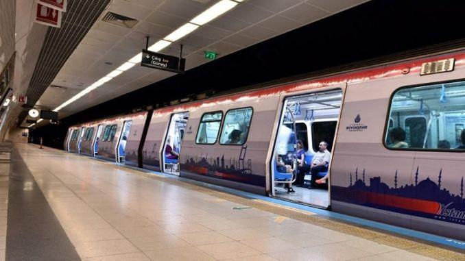 Ang mahusay na interes ni Istanbul sa serbisyo ng subway sa gabi