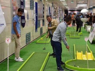 istanbulun metroo sel nädalal täis sporti