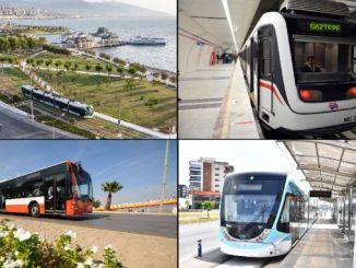 transport publiczny rozpoczyna się w Izmirze