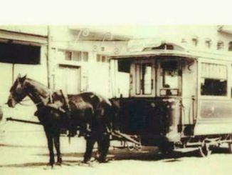 konyin tramvaji s konjima