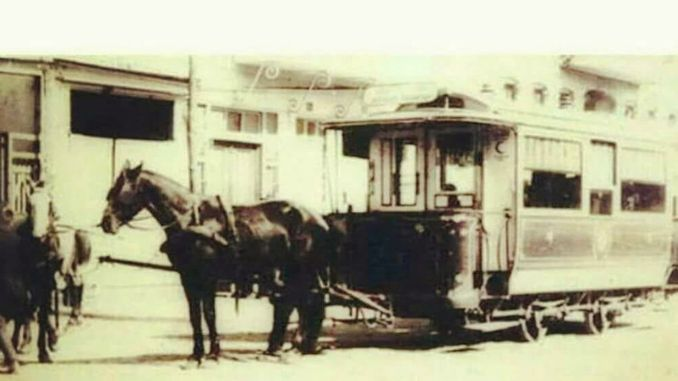 konyin horse-drawn trams