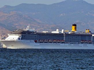 cruise ships freezing back to izmire