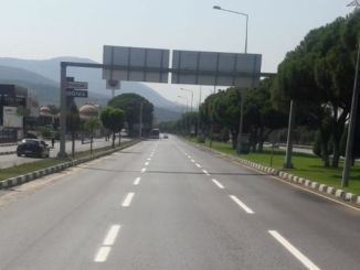 更新了道路线的manisada交通安全