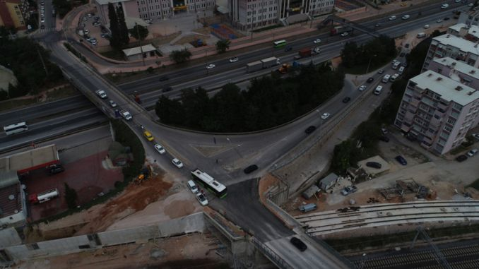 mevlana intersection was opened again traffic