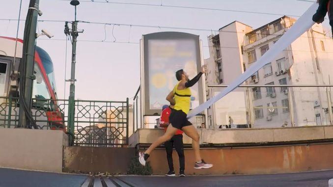 pambansang atleta batuhan bugra eruygun nakipagkumpitensya sa tram