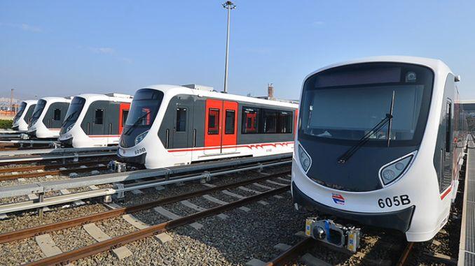 u podzemnoj željeznici Narlidere