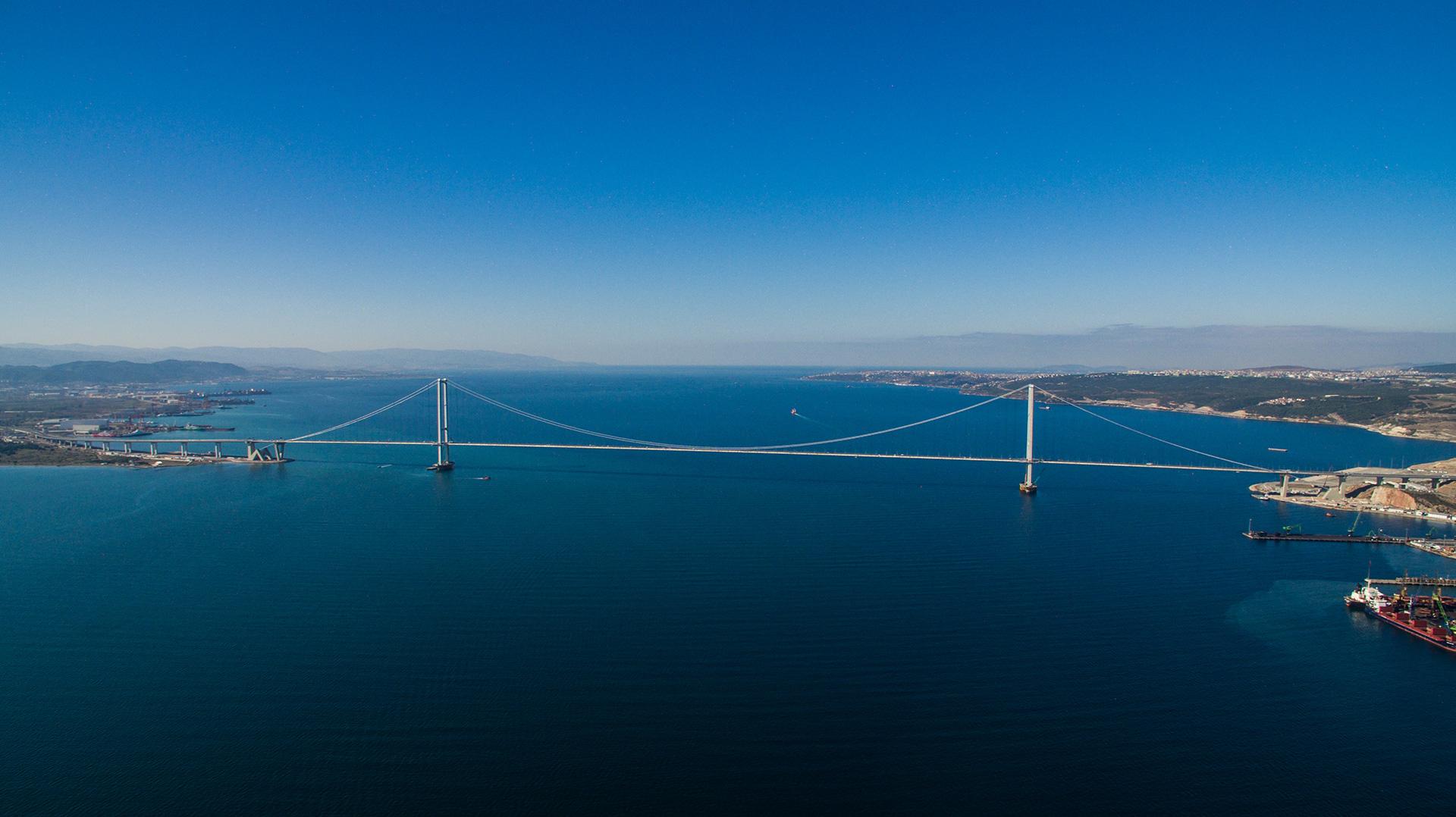 Proyecto de puente osmangazi