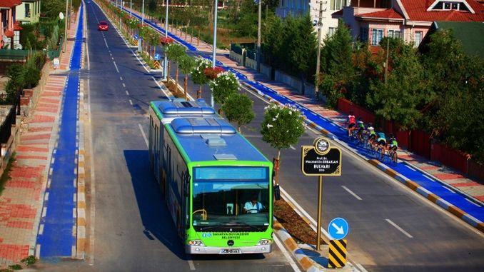public transportation in sakaria