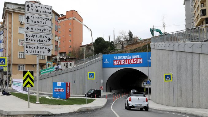 maintenance work will be done tonight in silahtaraga tunnel