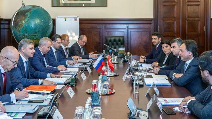 TCDD i rosyjskie koleje omówiły współpracę z RZD