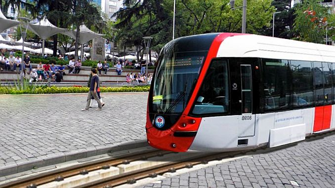 trabzon light rail project started