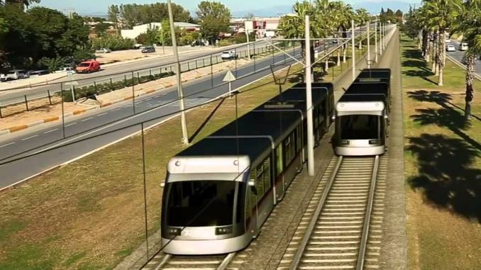 light rail system which is turned to arapsacina in trabzon continues to be discussed