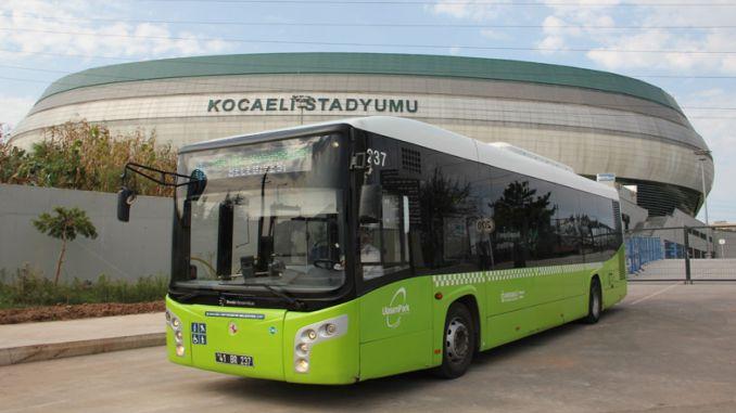 ulasimparkdan kansallisten maca-yksityisten linja-autojen linjat