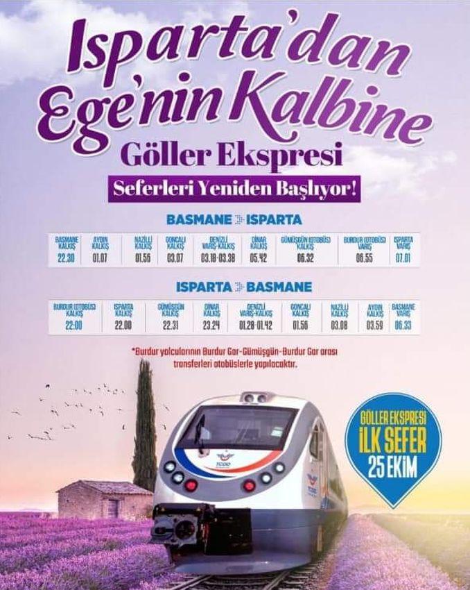 Göllər Express cədvəli