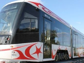Samsun's First Domestic Tram came to the city