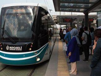 akcaray tramvayi haftada tum zamanlarin rekorunu kirdi