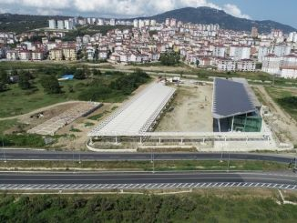 Altinordu intercity bus terminal is completed at a percentage