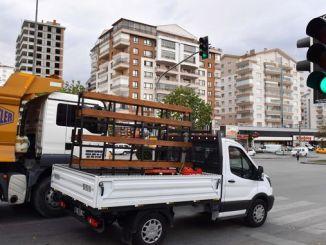 aplikasyon flash vèt te retire nan limyè trafik yo nan Ankara