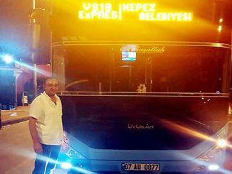 prøve adfærd fra transportfag i Antalya