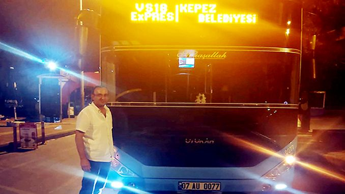 sample behavior from transportation trades in Antalya