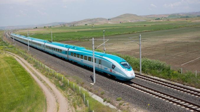 aydin denizli double track railway works start at
