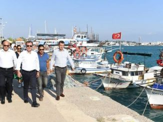 president secer tasucu found examinations at the port