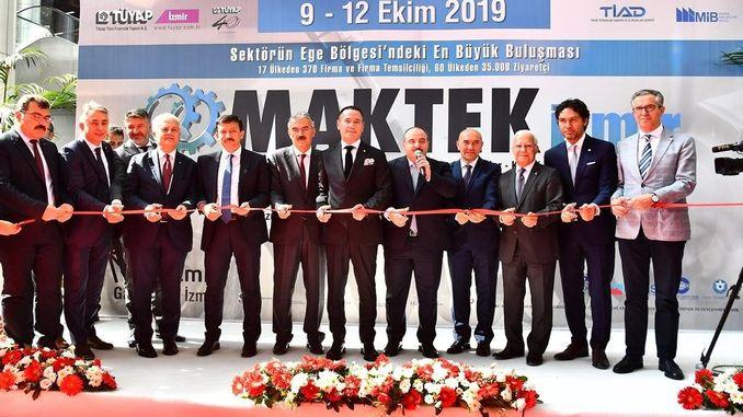 Председник Сојер Мактек учествовао је на сајму у Измиру