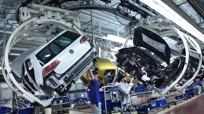 bułgarski w celu promowania fabryki Volkswagen