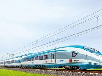 Проект швидкісного потягу бурси єнішехір буде завершений