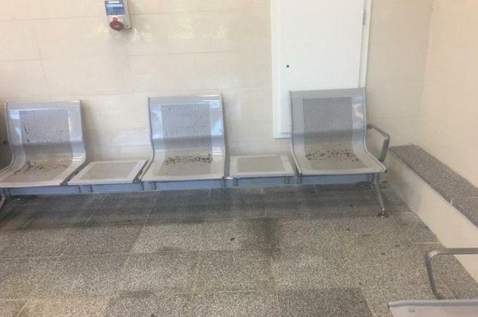 chpli tanal refrigeration yht station dirt rust inside