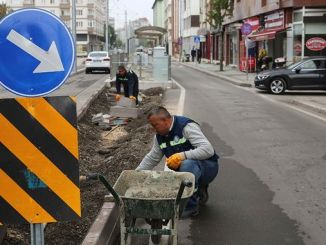 Tram Works in Eskişehir Completed Works on Street and Boulevard
