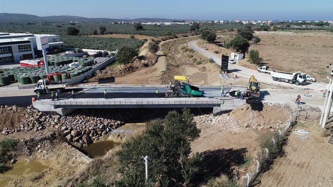 il ponte gomec dursunlu è stato messo in servizio