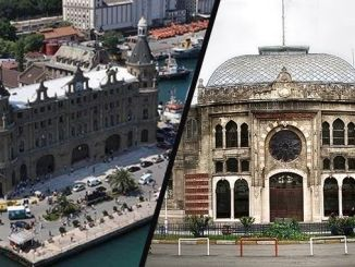 ЙСЕ Стамбул Хайдарпаша адамдардан түш жана тыныгуу токтойт