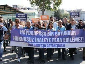 haydarpasa هو ككل لا يمكن التضحية بالمناقصة غير القانونية