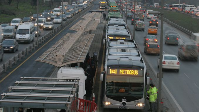 Additional measures against metrobus accidents