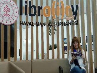 इस्तंबूल विमानतळावर एक हजाराहून अधिक कामे वाचकांना भेटतील