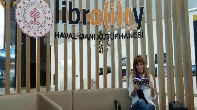more than a thousand works will meet with readers at istanbul airport
