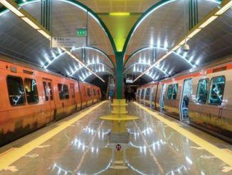 zvýšené metro v Istanbulu