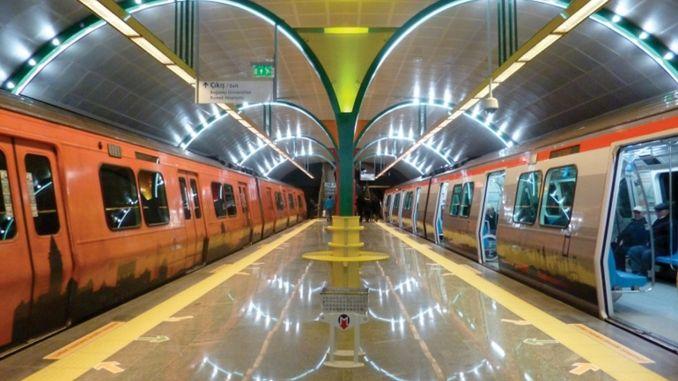 metro zerbitzua handitu zen Istanbulen